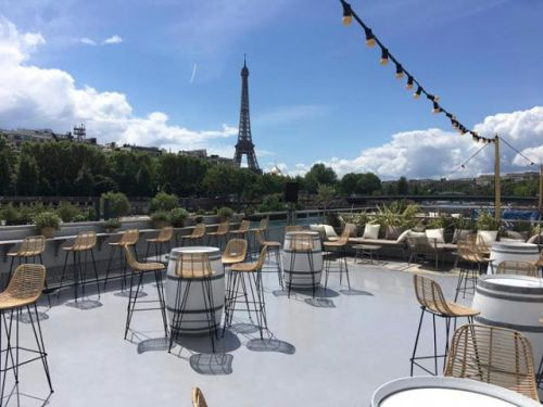 Le Club - vue panoramique - Paris 8e