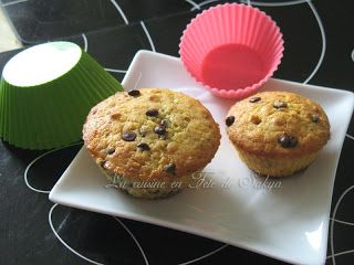 Muffins au chocolat et à l'orange