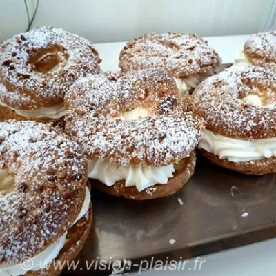 Paris Brest à la chantilly