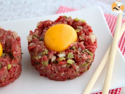 Steak tartare de bœuf
