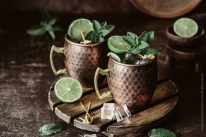 Le Moscow Mule, cocktail au ginger beer