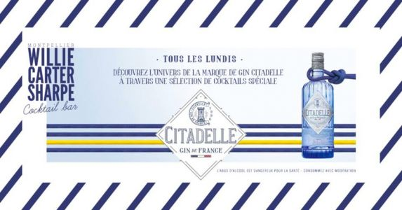 Les Lundis Gin Citadelle au Willie Carter Sharpe