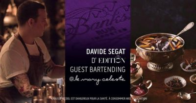 The Art Of Punch:  Banks X Davide Segate Guest Bartending