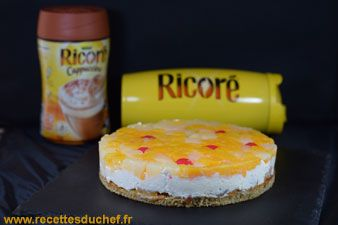 Fruitier biscuit ricoré cappuccino