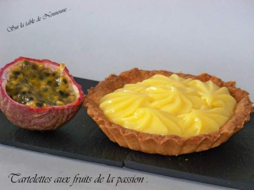 Tartelettes aux fruits de la passion